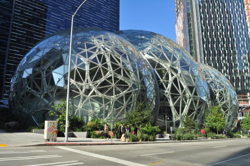 Amazon Spheres 05.jpg by Joe Mabel